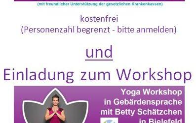 Yoga Vortrag & Workshop