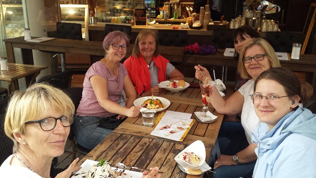 Eiscafe am 30. Mai in Bielefeld