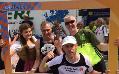 Erfolgreiches Wochenende für die Gehörlosen Triathleten am Chiemsee