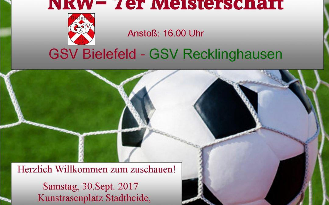 NRW-Meisterschaftsspiel im Fussball