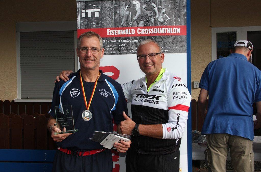 Crossduathlon: Martin Koppe gewinnt dritten deutscher Vizemeister innerhalb von eine Woche (24. September 2017)