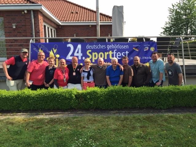 Sportfest Essen 2016 -> Abteilung Golf