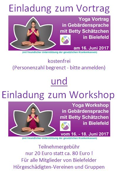 Yoga Vortrag & Workshop
