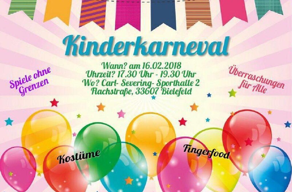 Kinderkarneval am 16.02.18