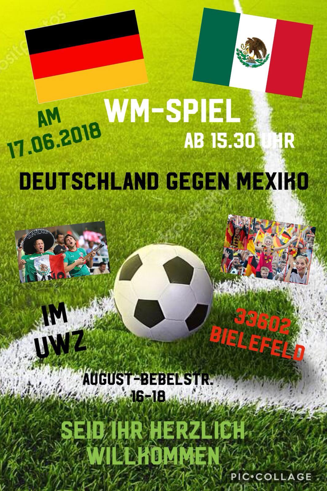 WM -Spiel am 17.06.18
