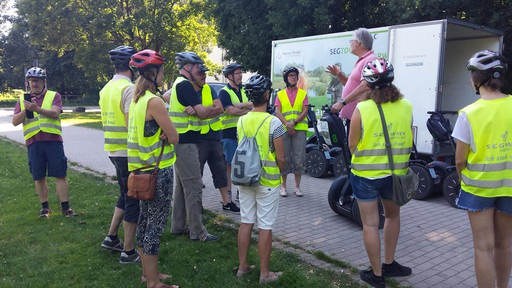 Segway – Tour durch Bielefeld 29.06.2018