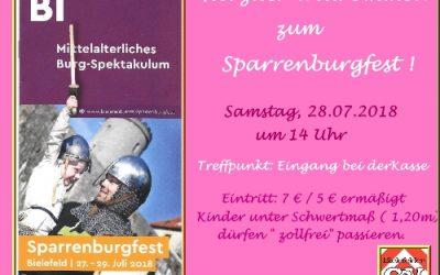 Sparrenburgfest am 28.07.2018