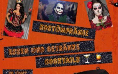 Am 31.10.2018 findet Halloween-Party bei UWZ statt.