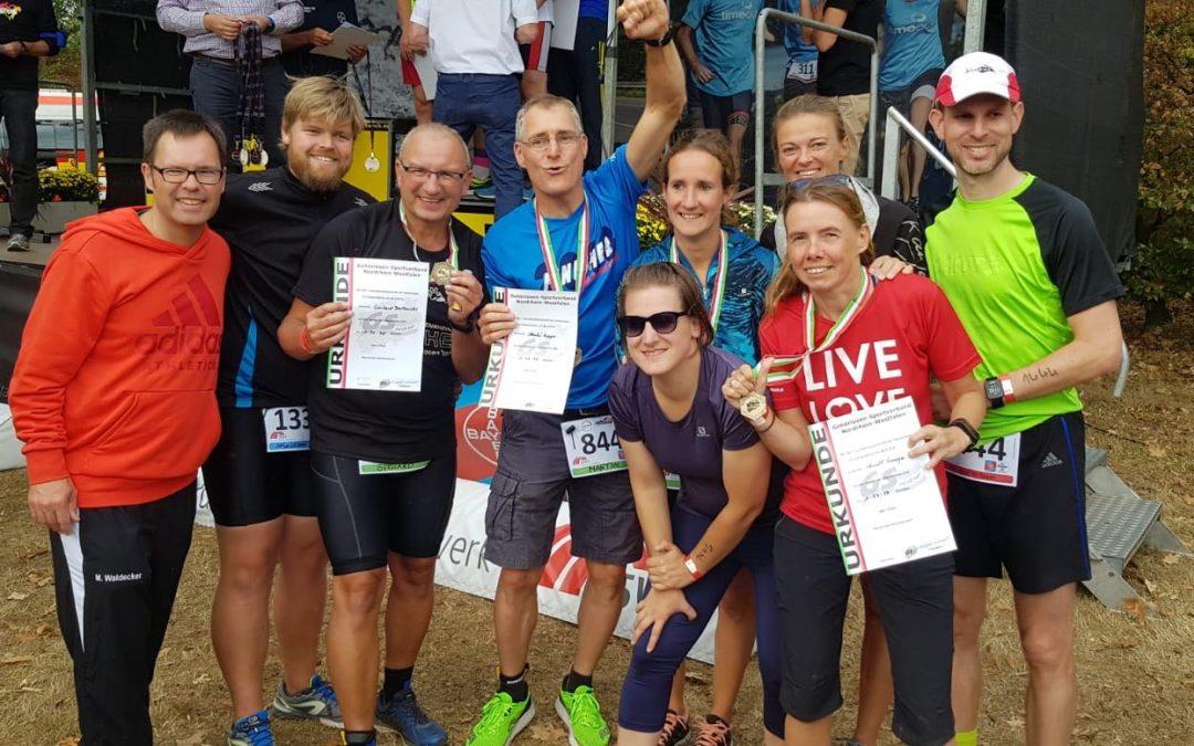 5 Medaillen für GSV Bielefeld beim 1. NRW – Gehörlosen Meisterschaft Triathlon!