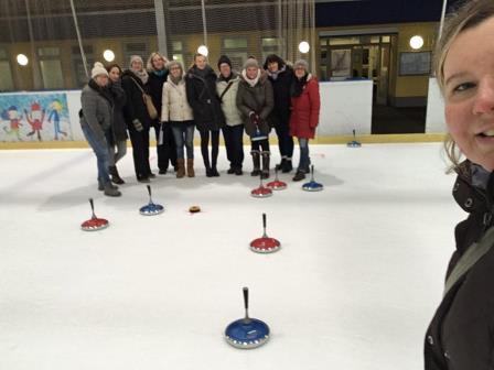 Eisstock-Schießen am 30. Januar 2019