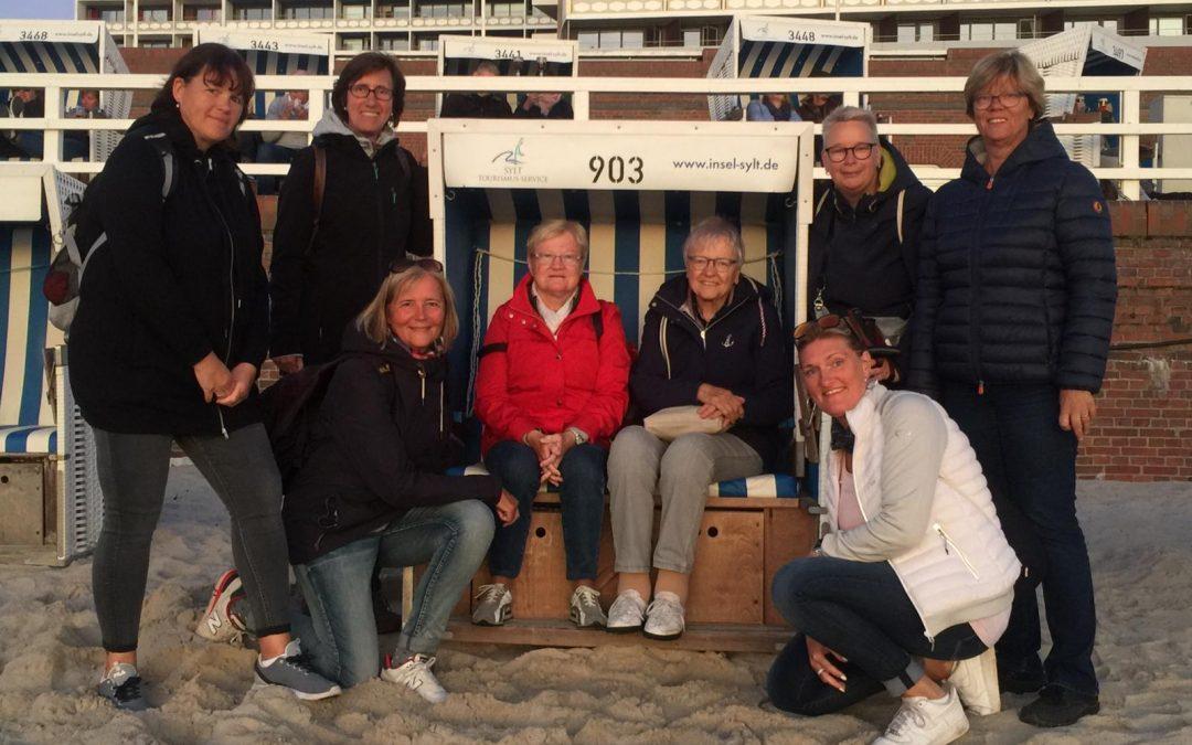 Kegeltour in den hohen Norden auf die Insel Sylt