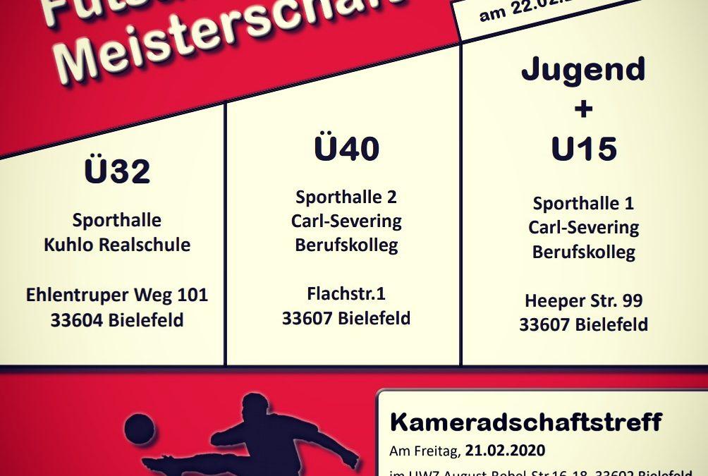 22.02.20 Futsal DM in Bielefeld (Bitte hier klicken.)
