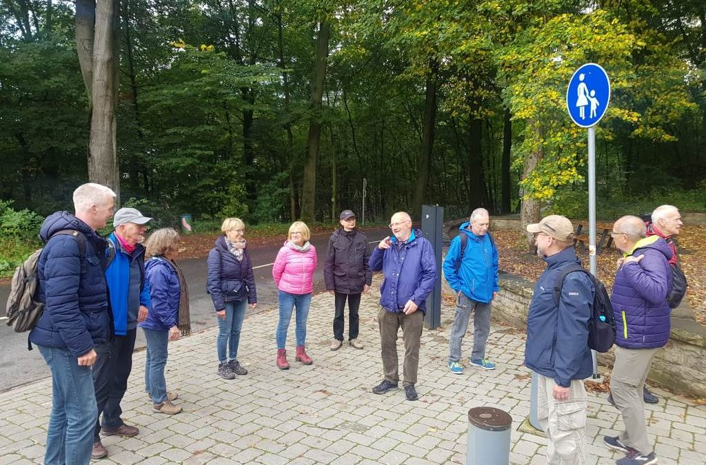 Wanderung am 11.10.2020 im Wiehengebirge / Porta-Westfalica